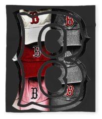 Boston Red Sox B Logo Fleece Blanket