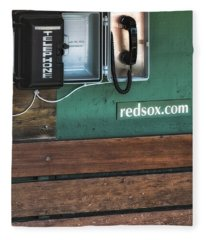 Boston Red Sox Dugout Telephone Fleece Blanket