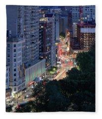 Boston Tremont St Fleece Blanket