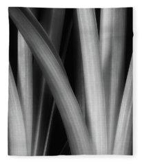 Botanical Abstract I Fleece Blanket