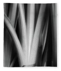 Botanical Abstract II Fleece Blanket