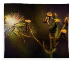 Botanical Life Cycle Fleece Blanket