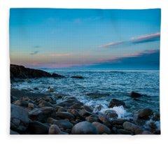 Boulder Beach Fleece Blanket