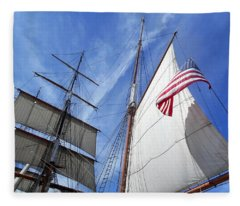 Bound For The Trade Winds Fleece Blanket