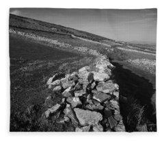 Boundaries 6 Fleece Blanket