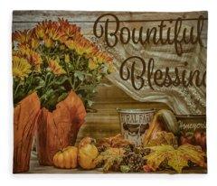 Bountiful Blessings Fleece Blanket