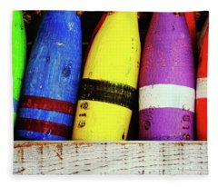 Buoy Color Fleece Blanket