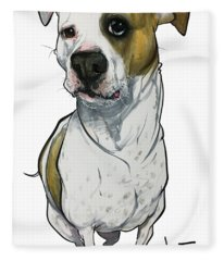 Bowie 3374 1 Fleece Blanket