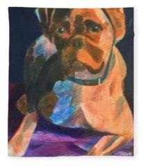 Boxer Fleece Blanket