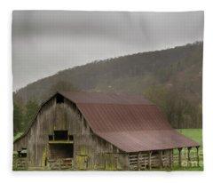 Boxley Barn Fleece Blanket