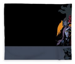 B.p.r.d. The Universal Machine Fleece Blanket