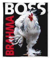 Brahma Boss II T-shirt Print Fleece Blanket