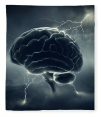 Brainstorm Fleece Blanket