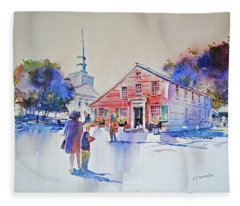 Bramhall's Corner Fleece Blanket