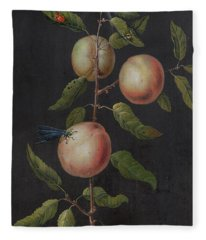 Branch Of A Pear Tree Fleece Blanket