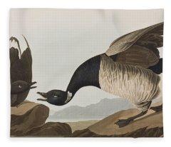 Brant Goose Fleece Blanket