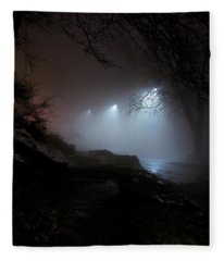 Brattleboro Fog Fleece Blanket