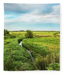 Brazilian Pampa Fleece Blanket