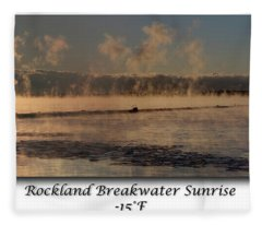 Breakwater Sunrise Fleece Blanket