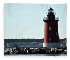 Breakwater Tower Fleece Blanket