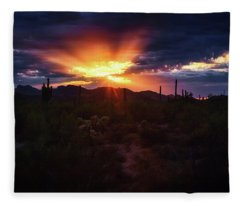 Fleece Blanket featuring the photograph Breathe by Rick Furmanek