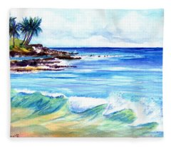 Brennecke's Beach Fleece Blanket