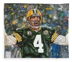 Brett Favre Fleece Blanket