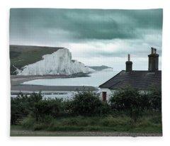 brewing storm Seven Sisters - England Fleece Blanket
