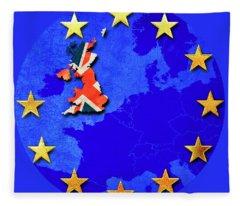Brexit Fleece Blanket