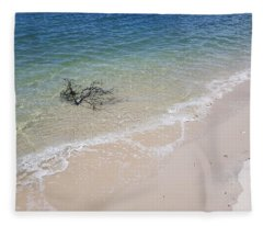 Bribie Branches 2 Fleece Blanket