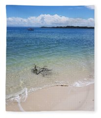 Bribie Branches  Fleece Blanket