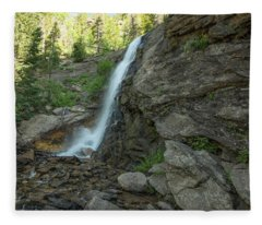 Bridal Veil Falls Fleece Blanket