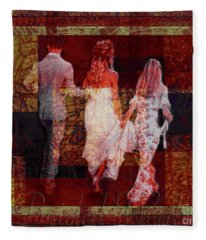 Bridal Walk Fleece Blanket