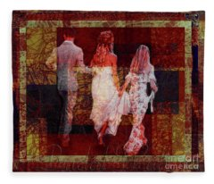 Bridal Walk Fleece Blanket