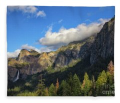 Bridalveil Fall Fleece Blanket