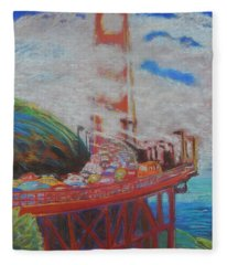 Bridge Fleece Blanket