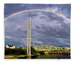 Bridge Of Hope Fleece Blanket