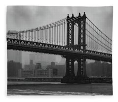 Bridge Over Troubled Water Fleece Blanket
