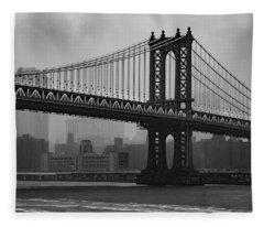 Bridge Over Troubled Water Fleece Blanket