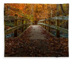 Bridge To Enlightenment 2 Fleece Blanket
