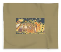 bridge to Longview #2 Fleece Blanket