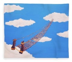 Bridge To Nowhere Fleece Blanket
