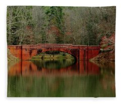 Bridges To Cross Fleece Blanket
