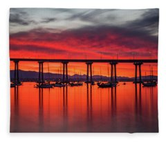 Bridgescape Fleece Blanket