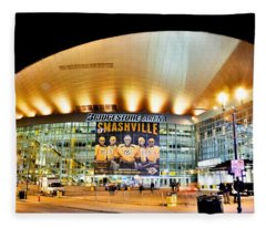 Bridgestone Arena Fleece Blanket