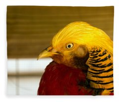 Bright Bird Fleece Blanket