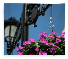 Bright Momories From Plovdiv 1 Fleece Blanket