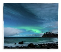 Bright Night Fleece Blanket