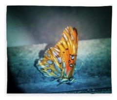 Bright Wings Fleece Blanket