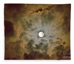 Brilliant Night Sky Fleece Blanket